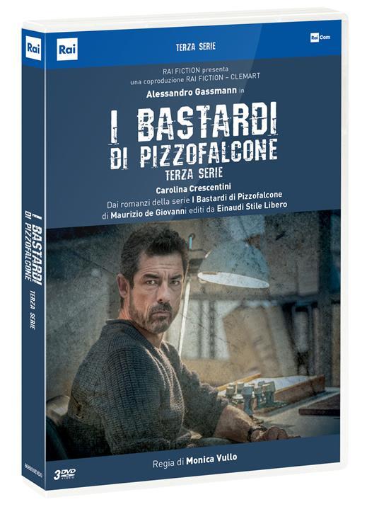 I bastardi di Pizzofalcone. Stagione 3. Serie TV ita (3 DVD) di Monica Vullo - DVD