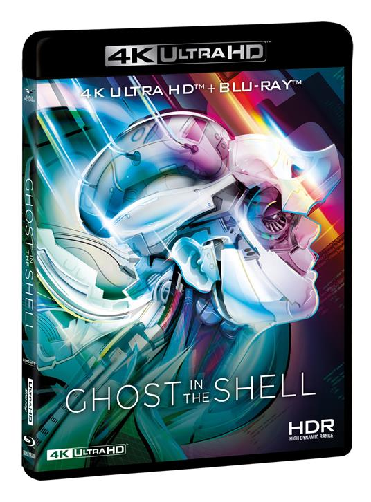 Ghost in the Shell (Blu-ray + Blu-ray Ultra HD 4K) di Mamoru Oshii - Blu-ray + Blu-ray Ultra HD 4K