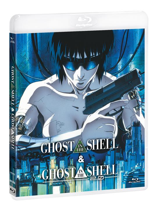Ghost in the Shell - Ghost in the Shell 2.0 (Blu-ray) di Mamoru Oshii - Blu-ray