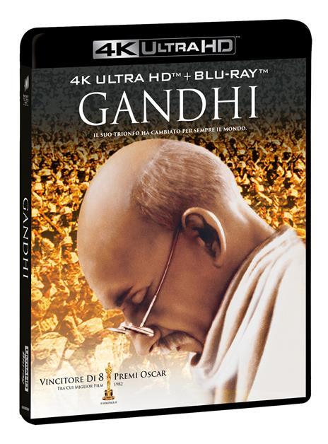 Gandhi (2 Blu-ray + 2 Blu-ray Ultra HD 4K) di Richard Attenborough - Blu-ray + Blu-ray Ultra HD 4K