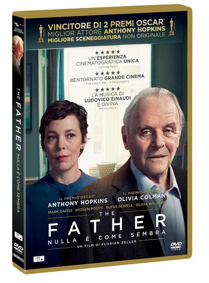 The father. Nulla è come sembra (DVD) di Florian Zeller - DVD