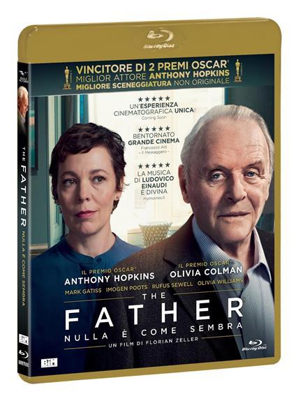The father. Nulla è come sembra (Blu-ray) di Florian Zeller - Blu-ray