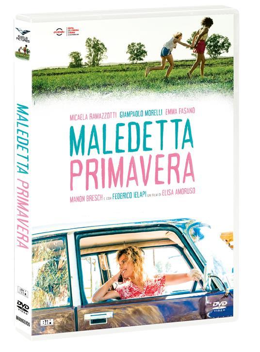 Maledetta Primavera (DVD) di Elisa Amoruso - DVD