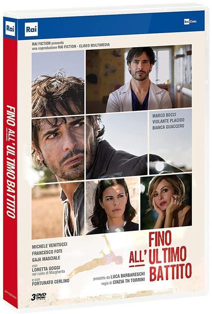 Fino all'ultimo battito. Serie TV ita (3 DVD) di Cinzia TH Torrini - DVD