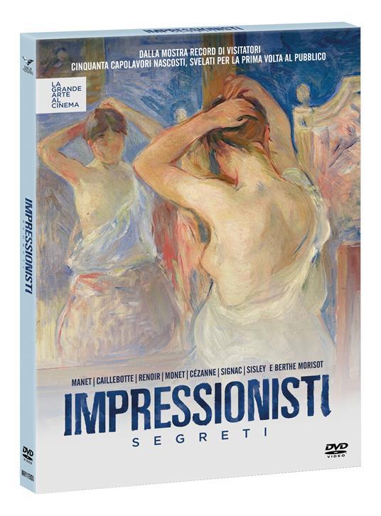 Impressionisti segreti (DVD) di Daniele Pini - DVD