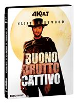Il Buono, il Brutto, il Cattivo. 4Kult (Blu-ray + Blu-ray Ultra HD 4K + DVD extra) + Card numerata