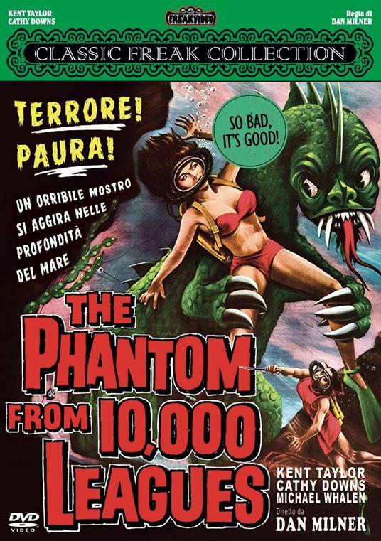 The Phantom from 10000 Leagues (DVD) di Dan Milner - DVD