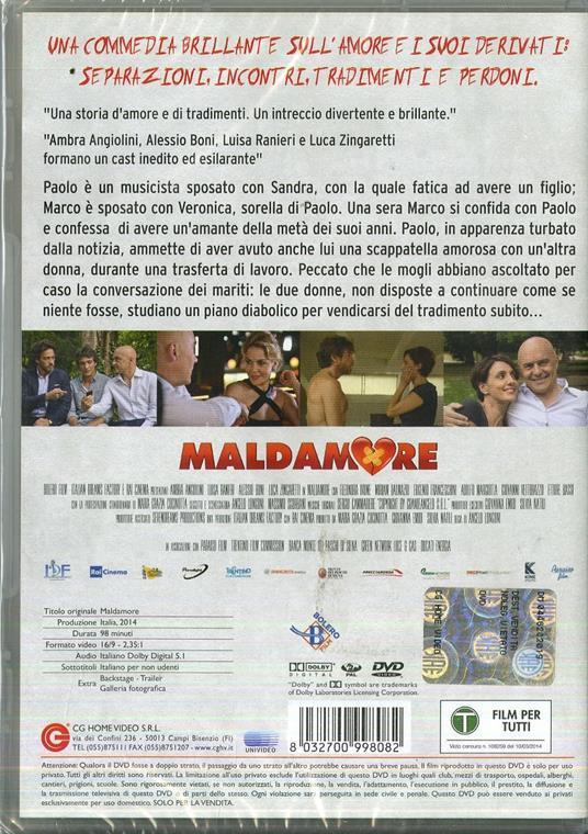 Maldamore di Angelo Longoni - DVD - 2
