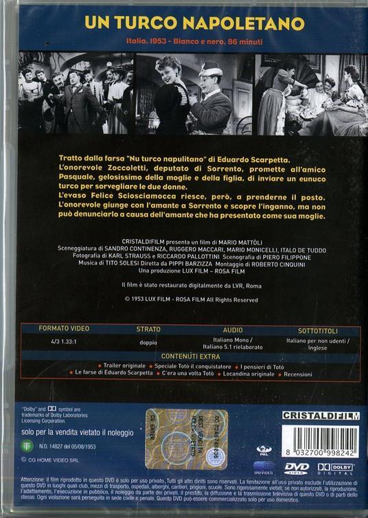 Un turco napoletano di Mario Mattoli - DVD - 2