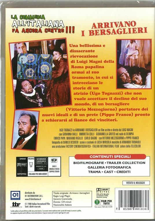 Arrivano i bersaglieri di Luigi Magni - DVD - 2