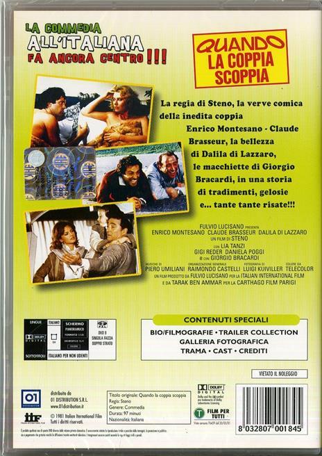 Quando la coppia scoppia di Steno - DVD - 2
