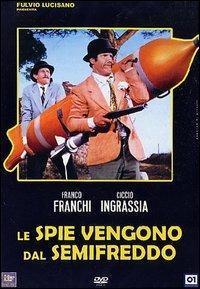 Le spie vengono dal semi freddo di Mario Bava - DVD
