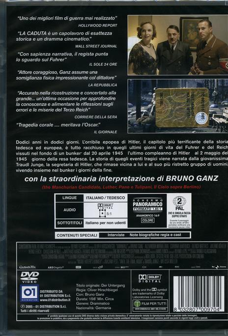 La caduta. Gli ultimi giorni di Hitler di Oliver Hirschbiegel - DVD - 2