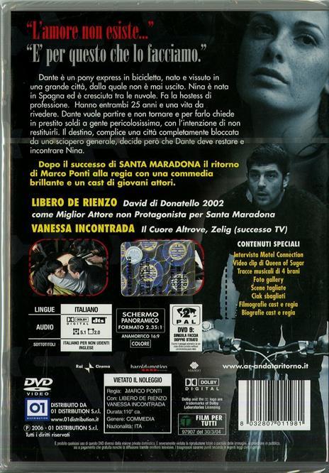 A/R Andata + Ritorno di Marco Ponti - DVD - 2