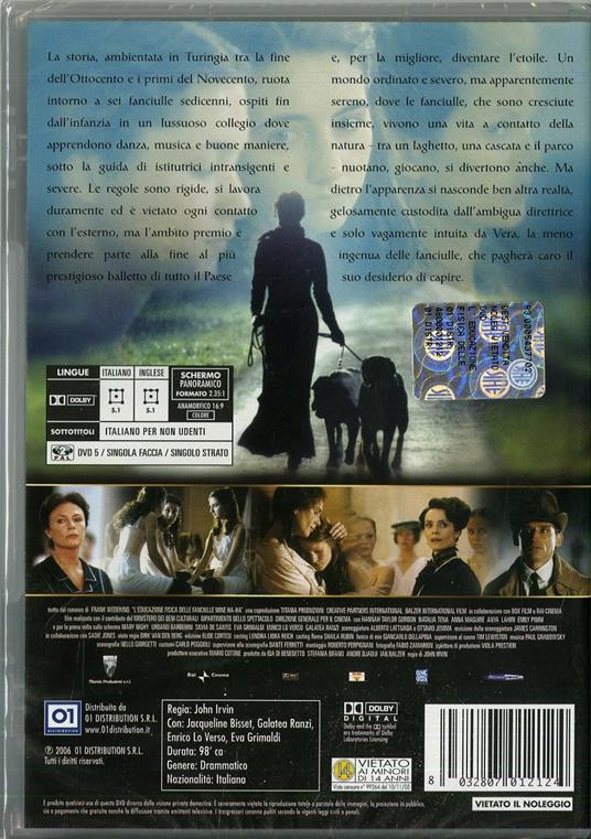 L' educazione fisica delle fanciulle di John Irvin - DVD - 2