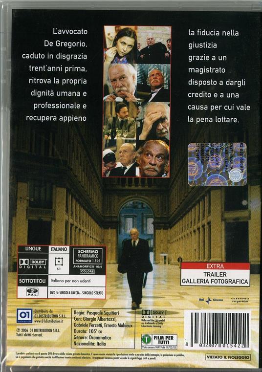 L' avvocato De Gregorio di Pasquale Squitieri - DVD - 2