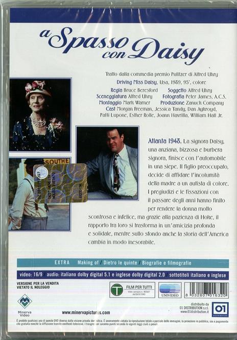A spasso con Daisy di Bruce Beresford - DVD - 2