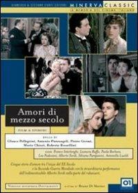 Amori di mezzo secolo di Pietro Germi,Glauco Pellegrini,Roberto Rossellini,Antonio Pietrangeli,Mario Chiari - DVD