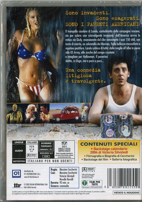 La mia vita a stelle e strisce di Massimo Ceccherini - DVD - 2