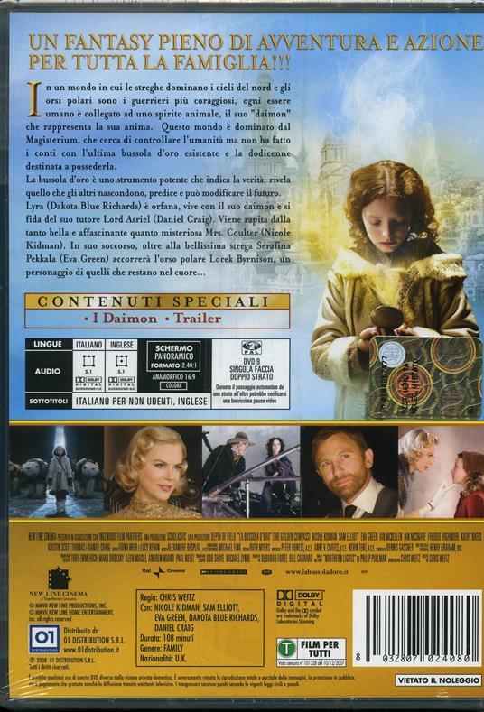 La bussola d'oro (1 DVD) di Chris Weitz - DVD - 2