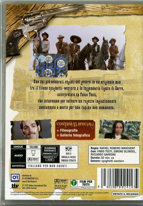E continuavano a chiamarlo figlio di... di Rafael Romero Marchent - DVD - 2