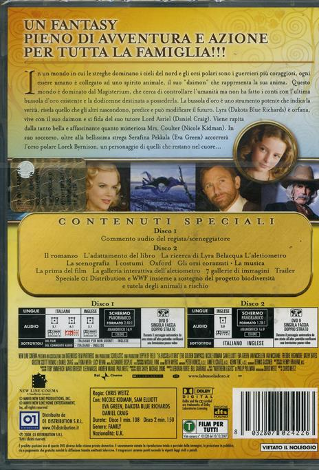 La bussola d'oro (2 DVD)<span>.</span> Special Edition di Chris Weitz - DVD - 2