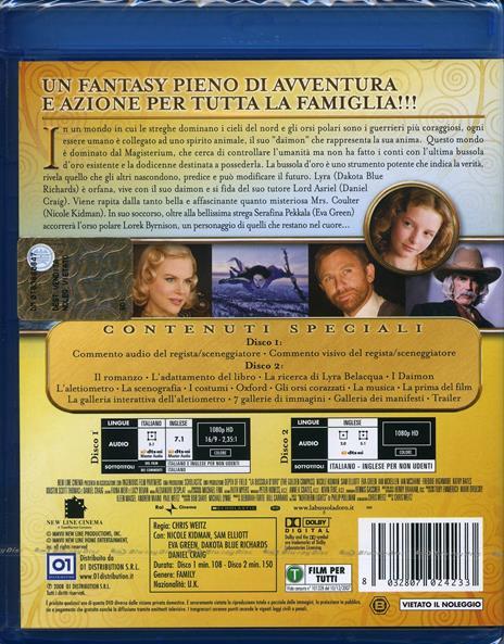 La bussola d'oro di Chris Weitz - Blu-ray - 2