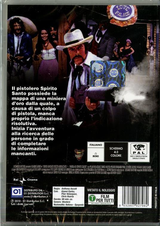 Uomo avvisato mezzo ammazzato... parola di Spirito Santo di Giuliano Carmineo - DVD - 2
