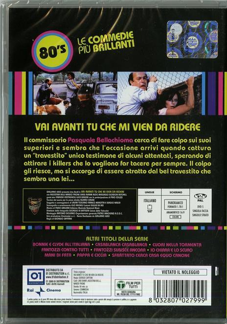 Vai avanti tu che mi vien da ridere di Giorgio Capitani - DVD - 2