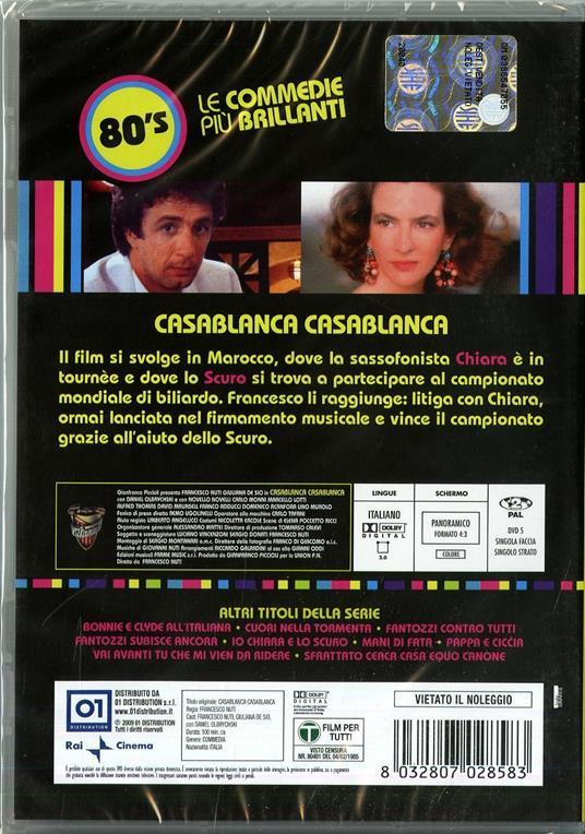 Casablanca, Casablanca! di Francesco Nuti - DVD - 2