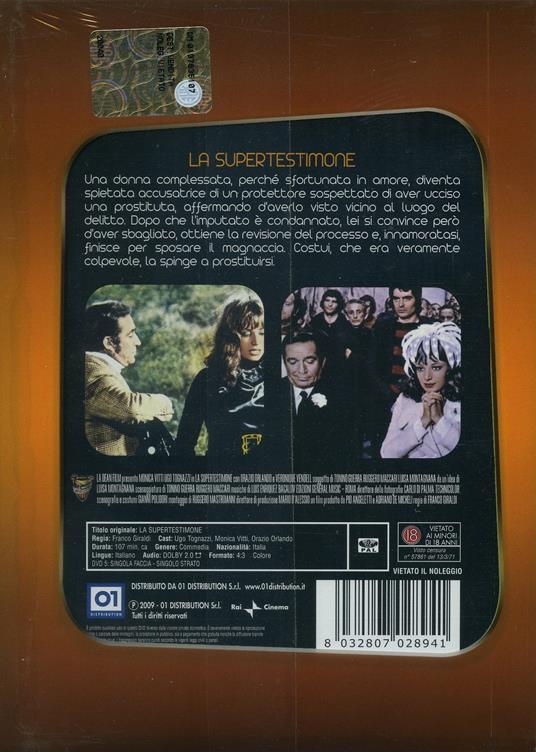 La supertestimone di Franco Giraldi - DVD - 2