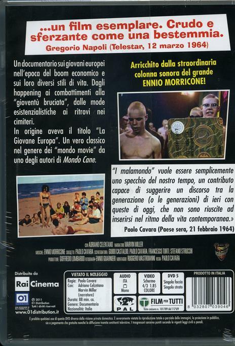I malamondo di Paolo Cavara - DVD - 2