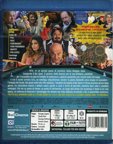 Bar Sport di Massimo Martelli - Blu-ray - 2