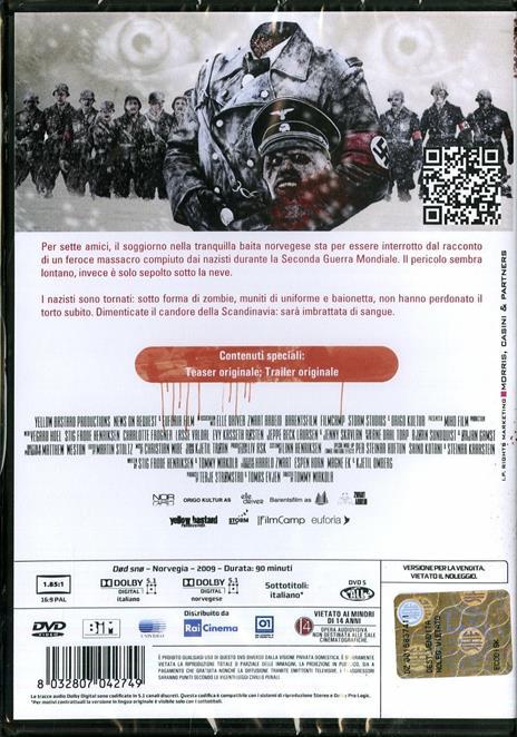 Dead Snow di Tommy Wirkola - DVD - 2