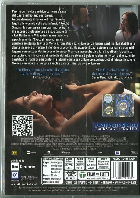 Il mio domani di Marina Spada - DVD - 2
