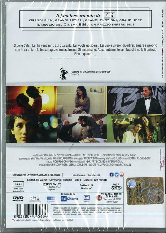 La sposa turca di Fatih Akin - DVD - 2