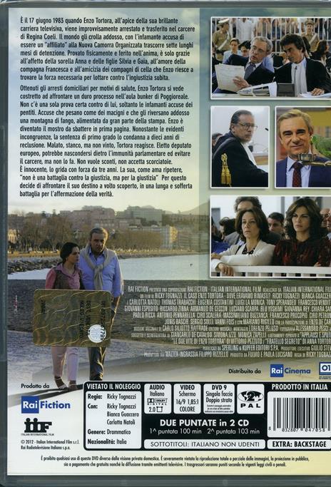 Il caso Enzo Tortora. Dove eravamo rimasti? di Ricky Tognazzi - DVD - 2