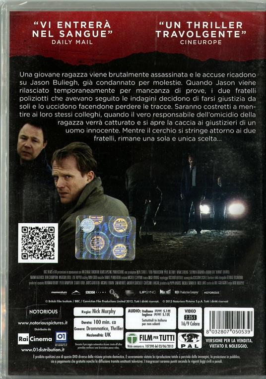 Blood di Nick Murphy - DVD - 2