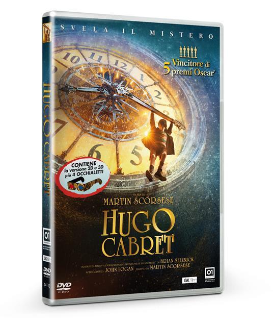 Hugo Cabret di Martin Scorsese - DVD