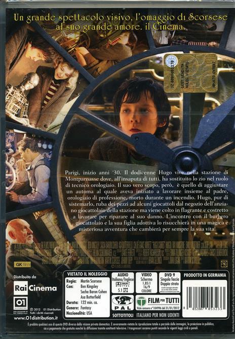 Hugo Cabret di Martin Scorsese - DVD - 2