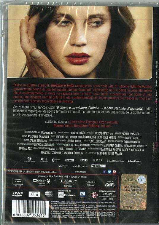 Giovane e bella di François Ozon - DVD - 2