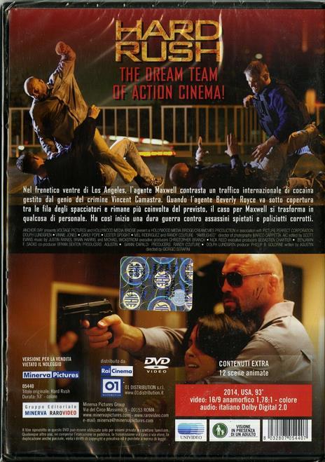 Hard Rush di Giorgio Serafini - DVD - 2