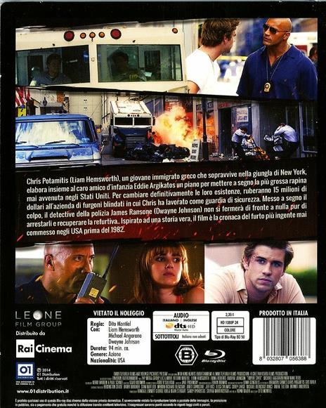 Empire State di Dito Montiel - Blu-ray - 2