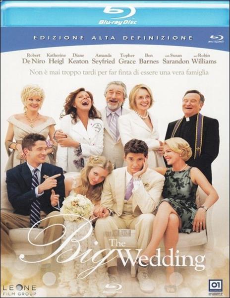 Big Wedding di Justin Zackham - Blu-ray