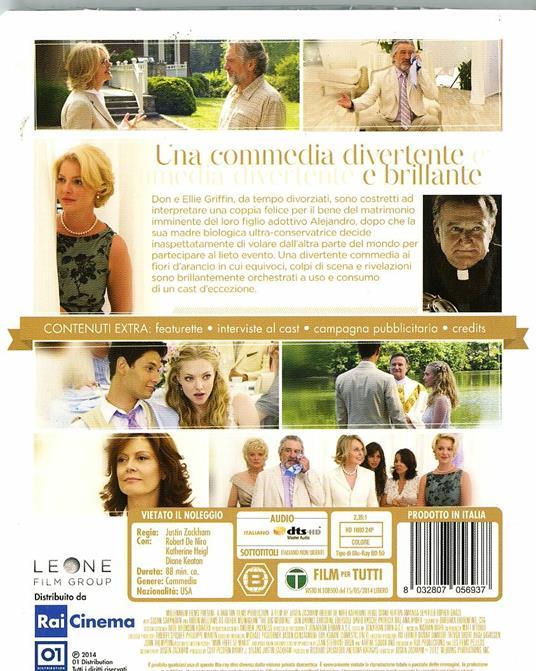 Big Wedding di Justin Zackham - Blu-ray - 2