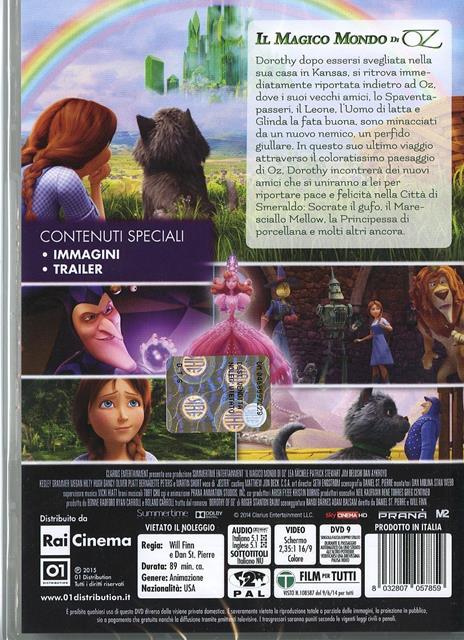Il magico mondo di Oz di Daniel St. Pierre,Will Finn - DVD - 2