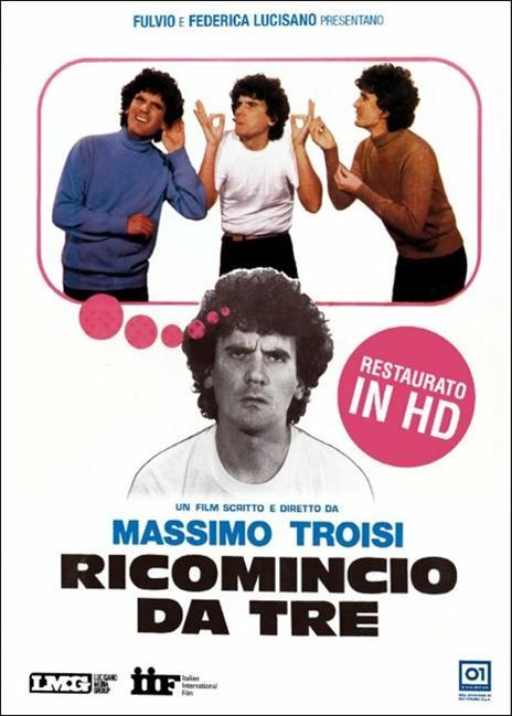 Ricomincio da tre di Massimo Troisi - DVD