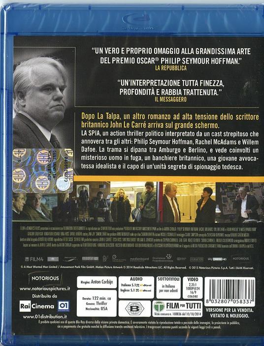 La spia. A Most Wanted Man di Anton Corbijn - Blu-ray - 2