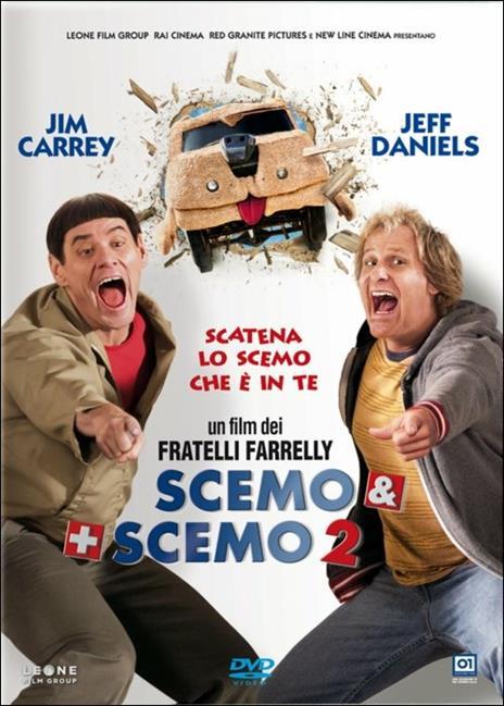 Scemo & + scemo 2 di Peter Farrelly,Bobby Farrelly - DVD