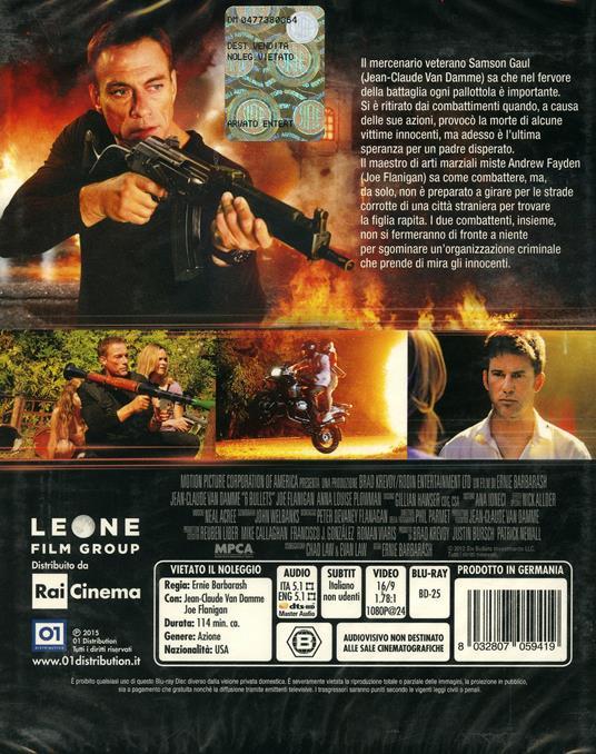 6 Bullets di Ernie Barbarash - Blu-ray - 2